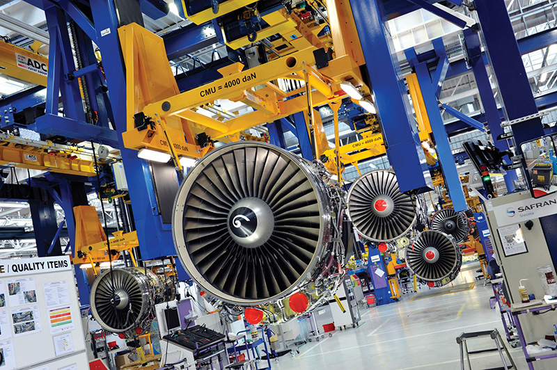 Jet Engine Manufacturing